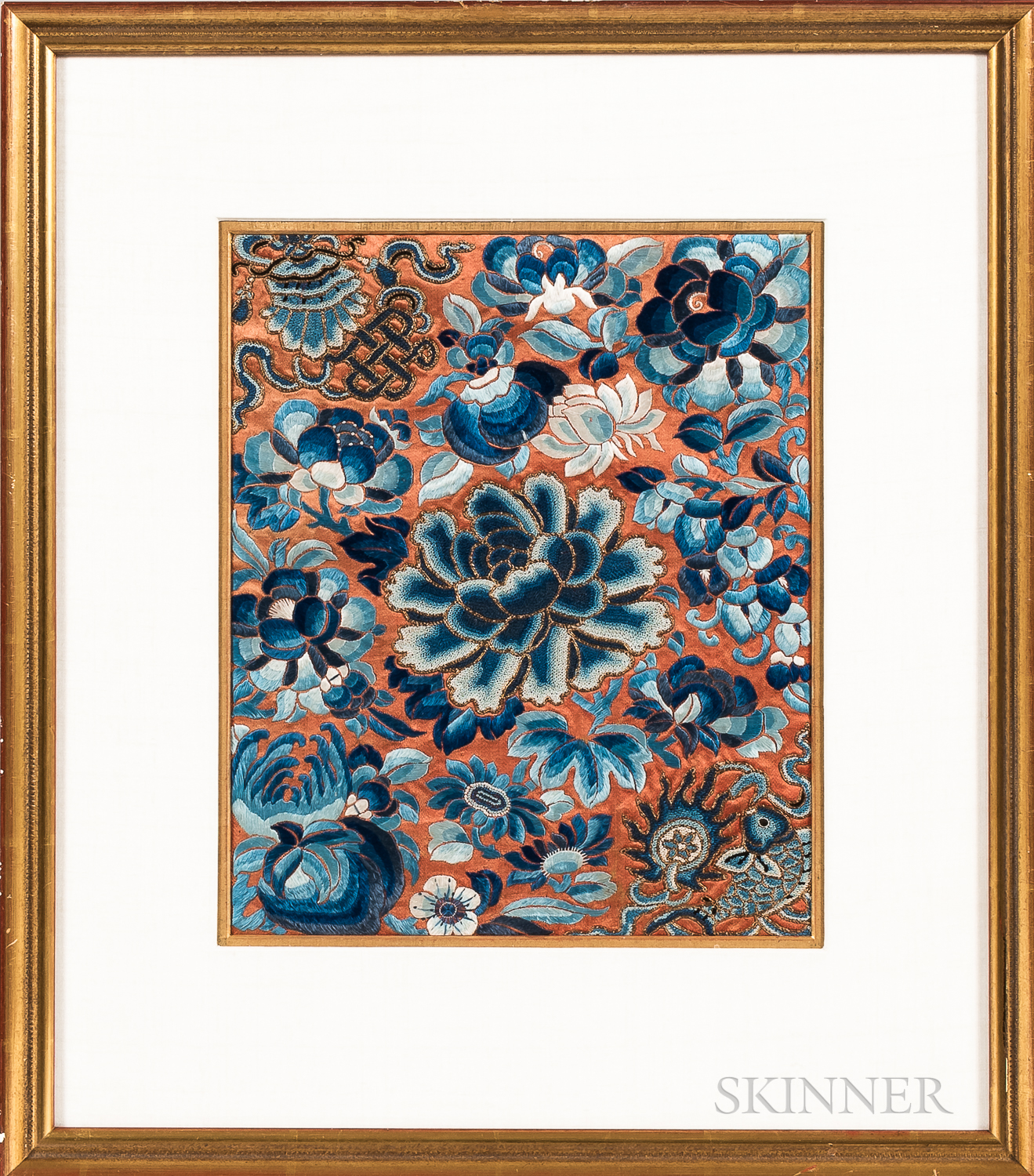 Seven Chinese Embroideries and Textile Fragments.