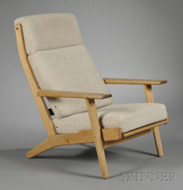 Hans Wegner High-back Easy Chair