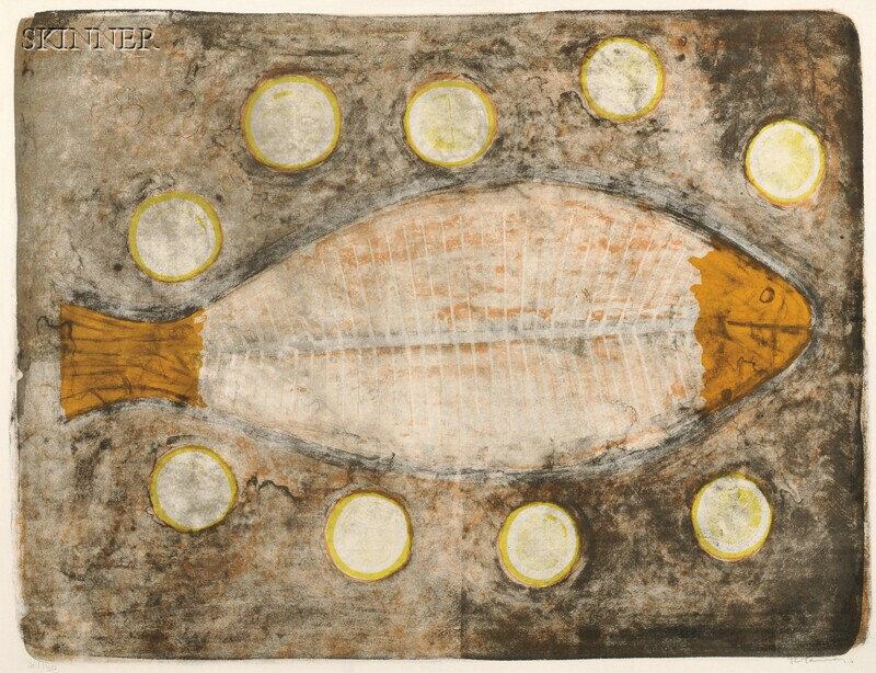 Rufino Tamayo (Mexican, 1899-1991)      Medio Pescado