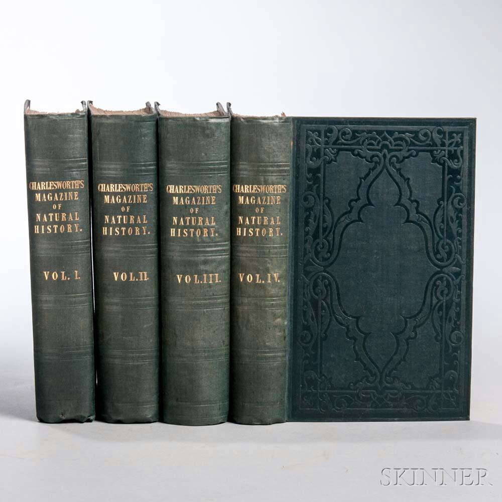 Charlesworth, Edward (1813-1893) The Magazine of Natural History, and Journal of Zoology, Botany, Mineralogy, Geology, and Meteorology.