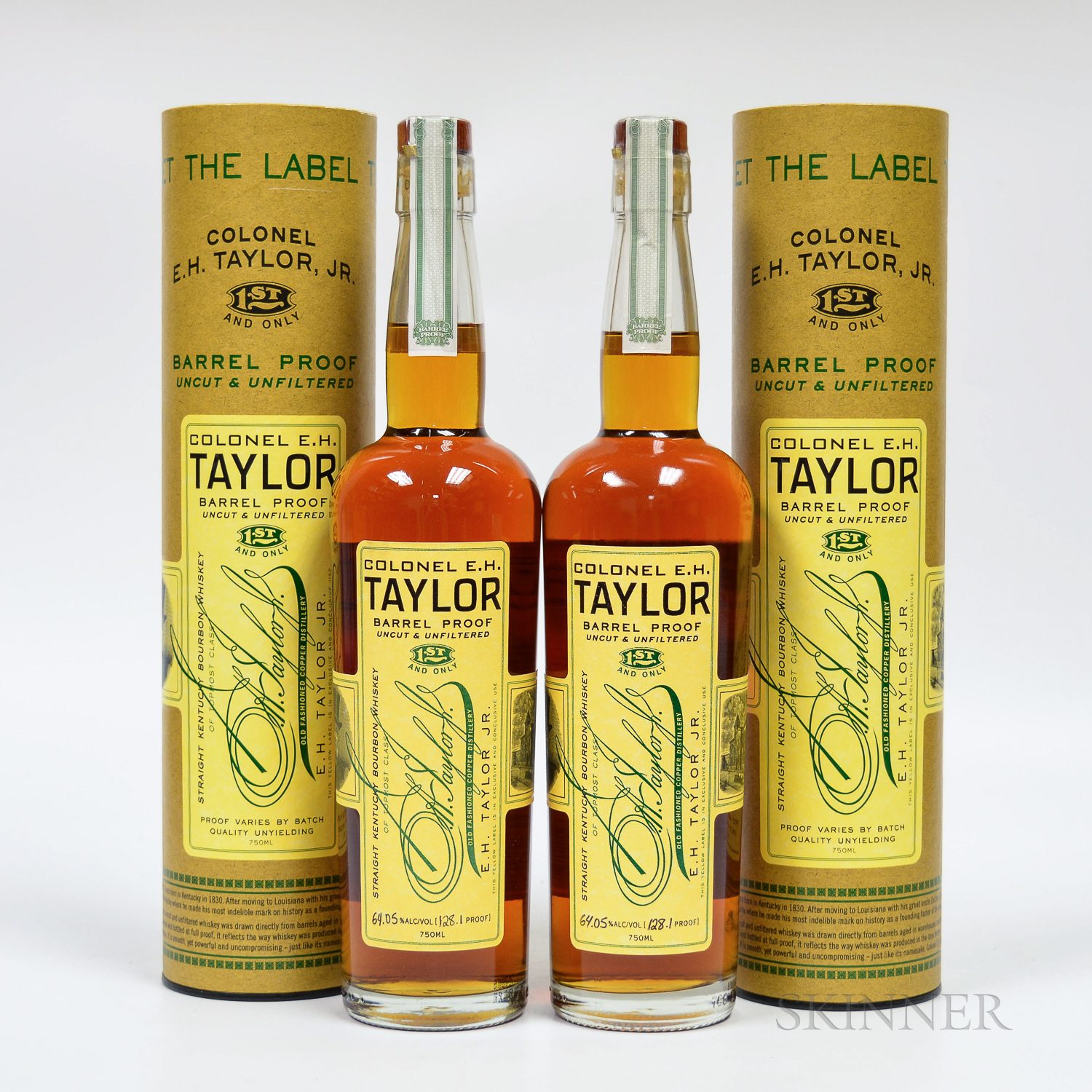 Colonel EH Taylor Barrel Proof, 2 750ml bottles (ot)