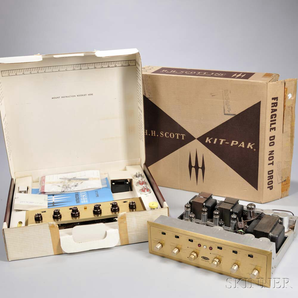 H.H. Scott Stereo Components