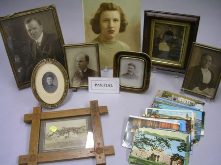 Group of Assorted Framed and Unframed Photographs, Ephemera and Collectibles.