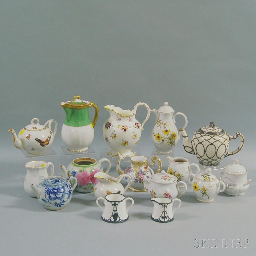 Group of Porcelain Vessels