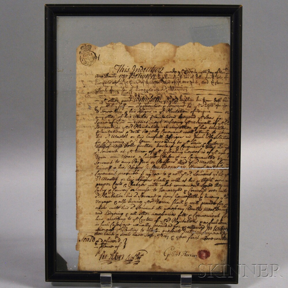 Framed Indenture