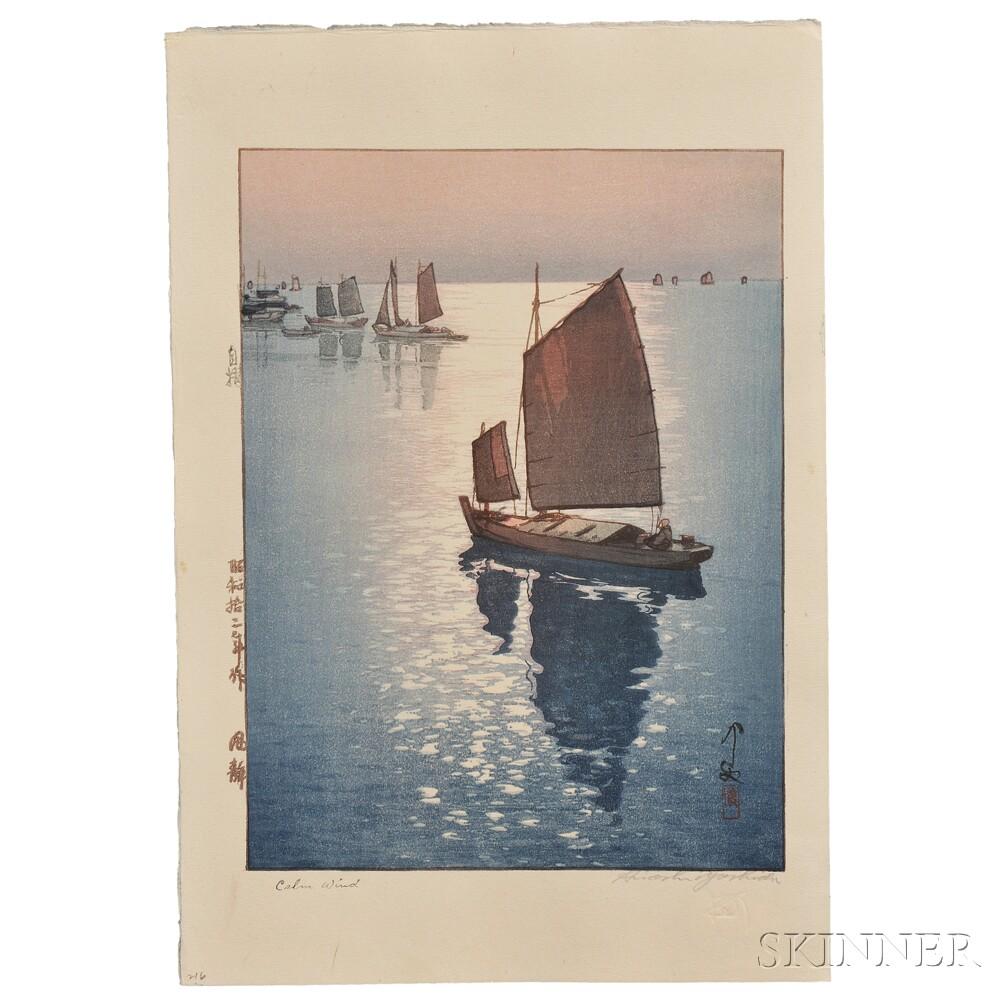 Hiroshi Yoshida (1876-1950), Calm Wind