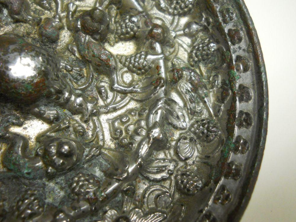 Silvered Bronze