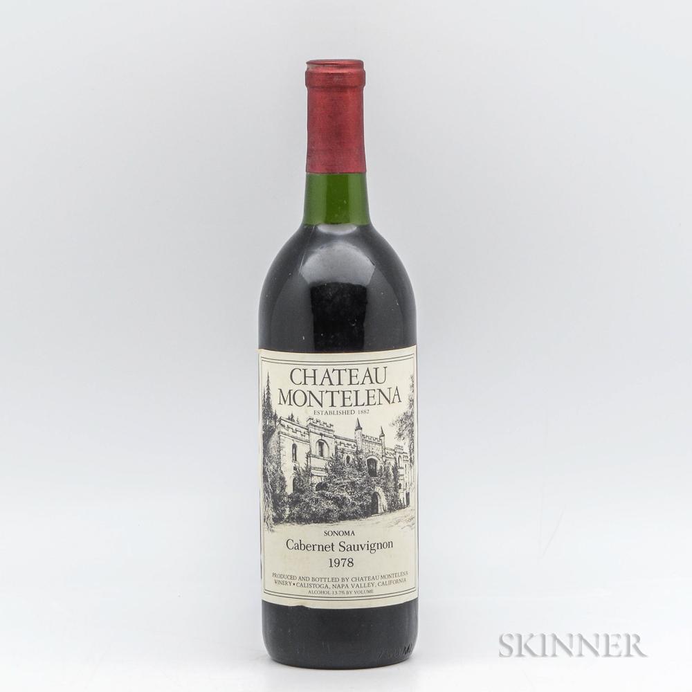 Chateau Montelena Cabernet Sauvignon 1978, 1 bottle