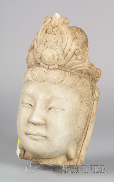 Carved Marble Head