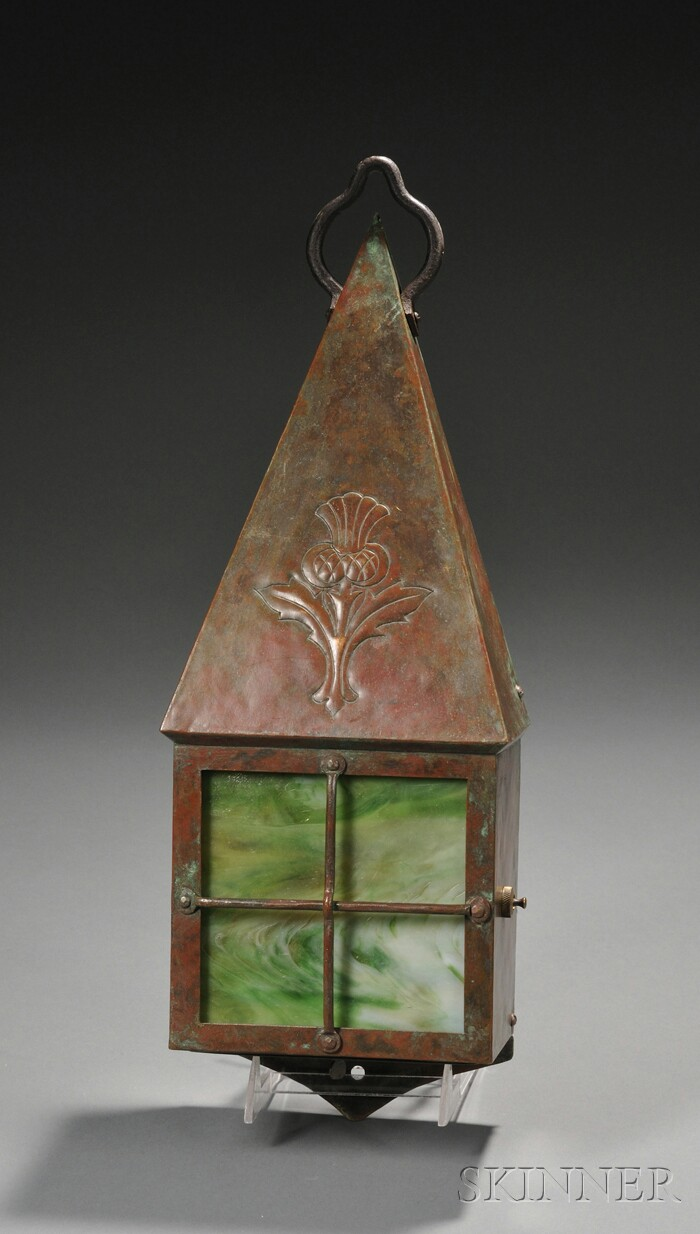 Arts & Crafts Wall Lantern