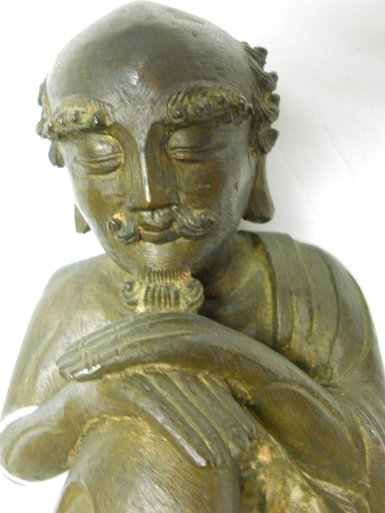Cast bronze figure of an ascetic buddha sale number for Figur buddha