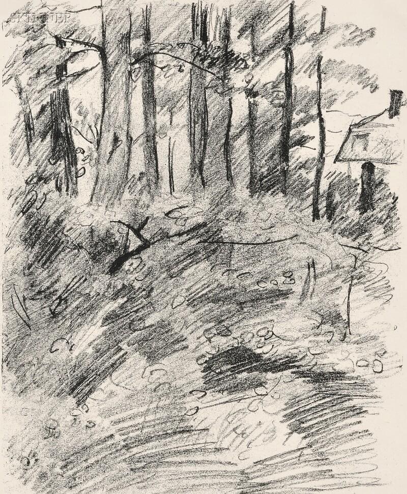 Lovis Corinth (German, 1858-1925)      Baumlandschaft