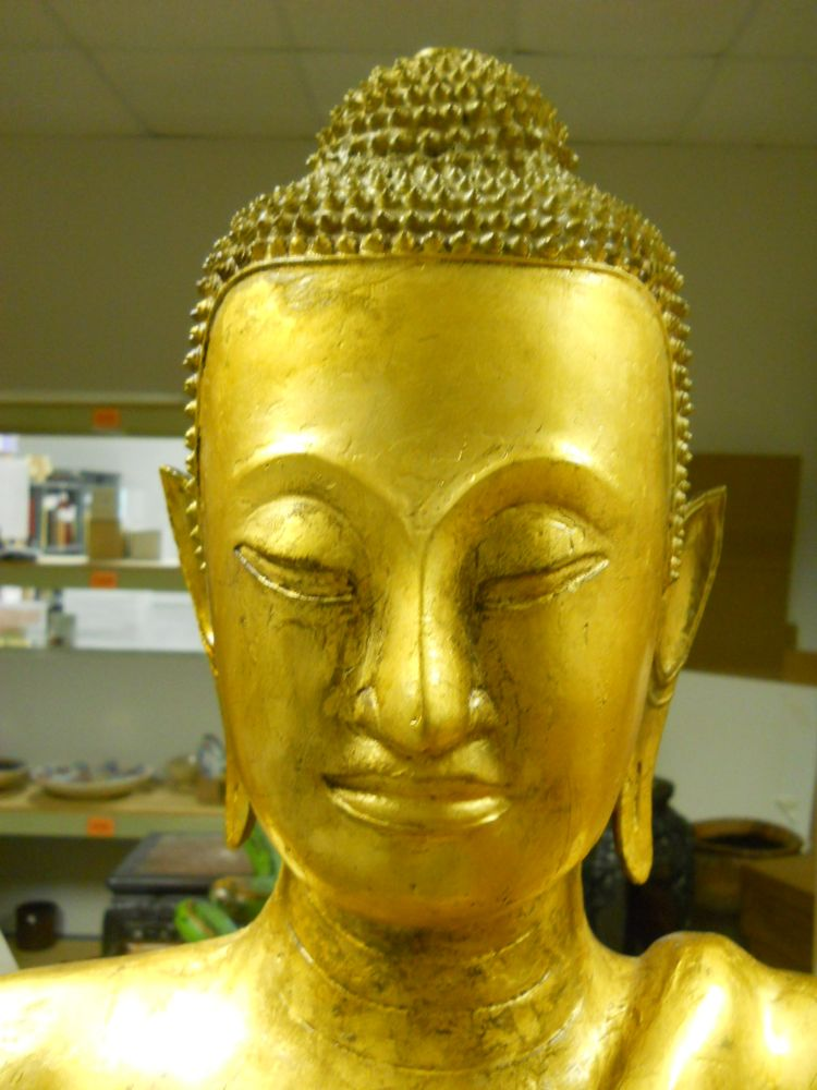 Ayuthian Gilt-bronze Buddha