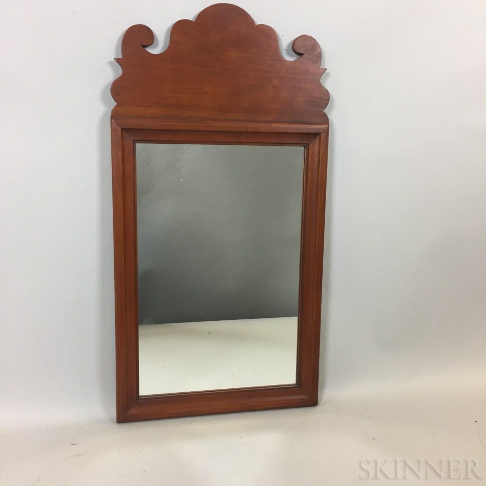 Eldred Wheeler Queen Anne-style Cherry Mirror