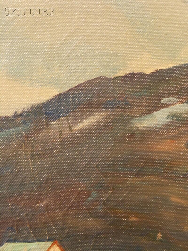 Aldro Thompson Hibbard (American, 1886-1972)      Little Ammonoosuc River