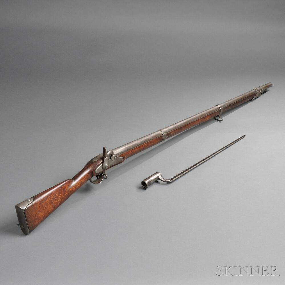 Austrian Percussion Musket and Bayonet