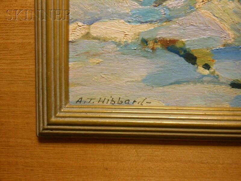 Aldro Thompson Hibbard (American, 1886-1972)      Sunset, Winter