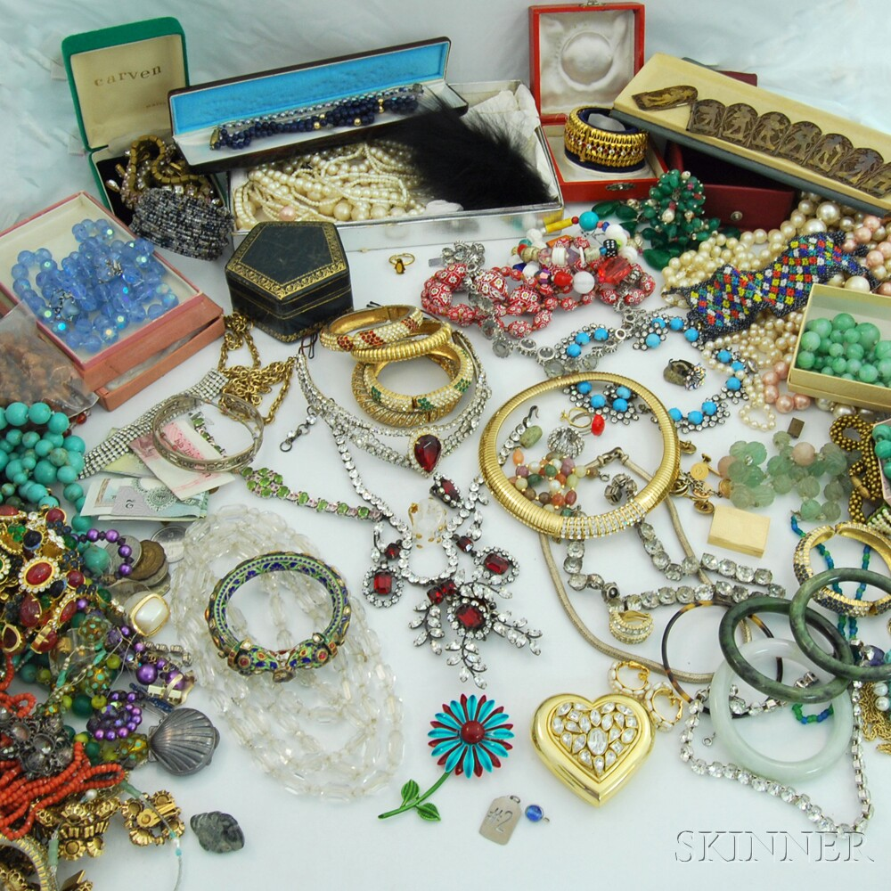 Large Collection of Costume JewelryLarge Collection of Costume Jewelry