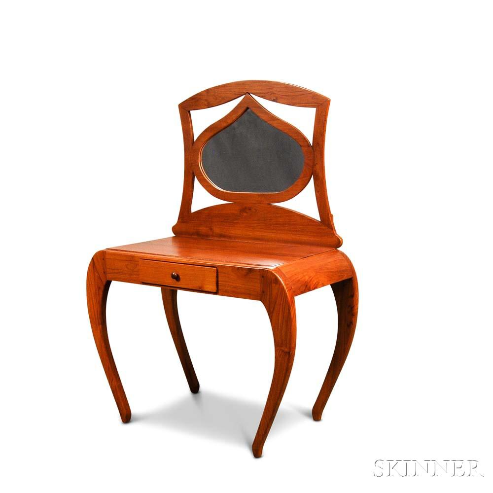 American Craftsman Teak Vanity