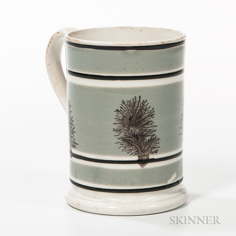 Mocha-decorated Pint Mug