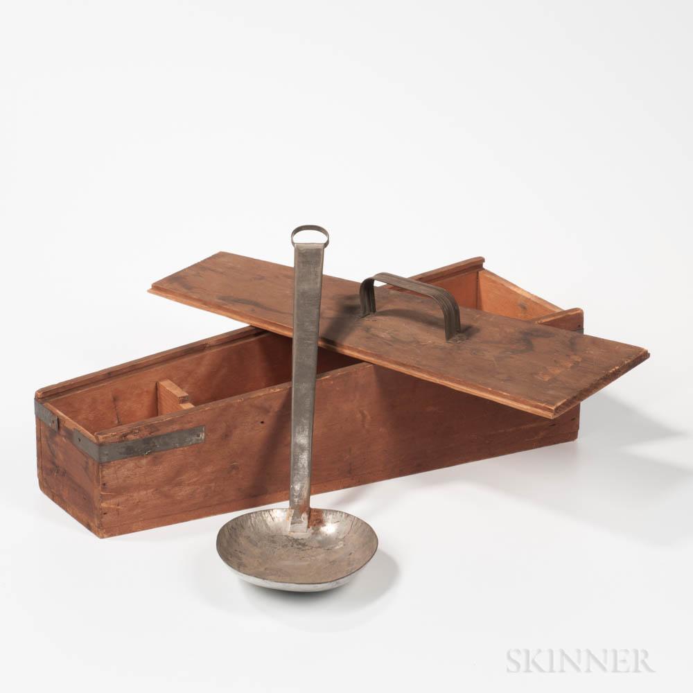 Anniversary Tin Spoon in a Slide-lid Box