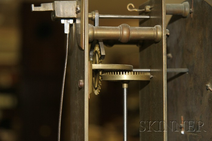 Thirty-Day Japanned Longcase Clock by John Ellicott