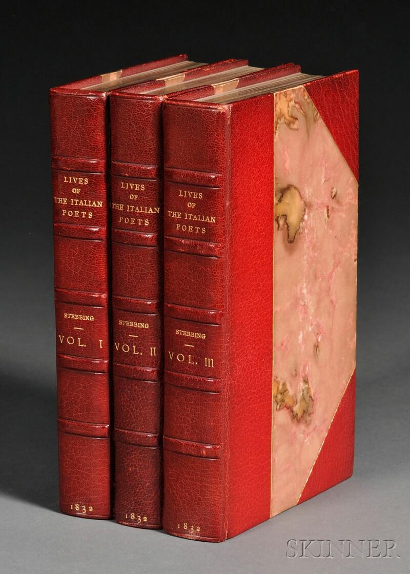 (Poetry, Italian), Stebbing, Reverend Henry (1799-1883)
