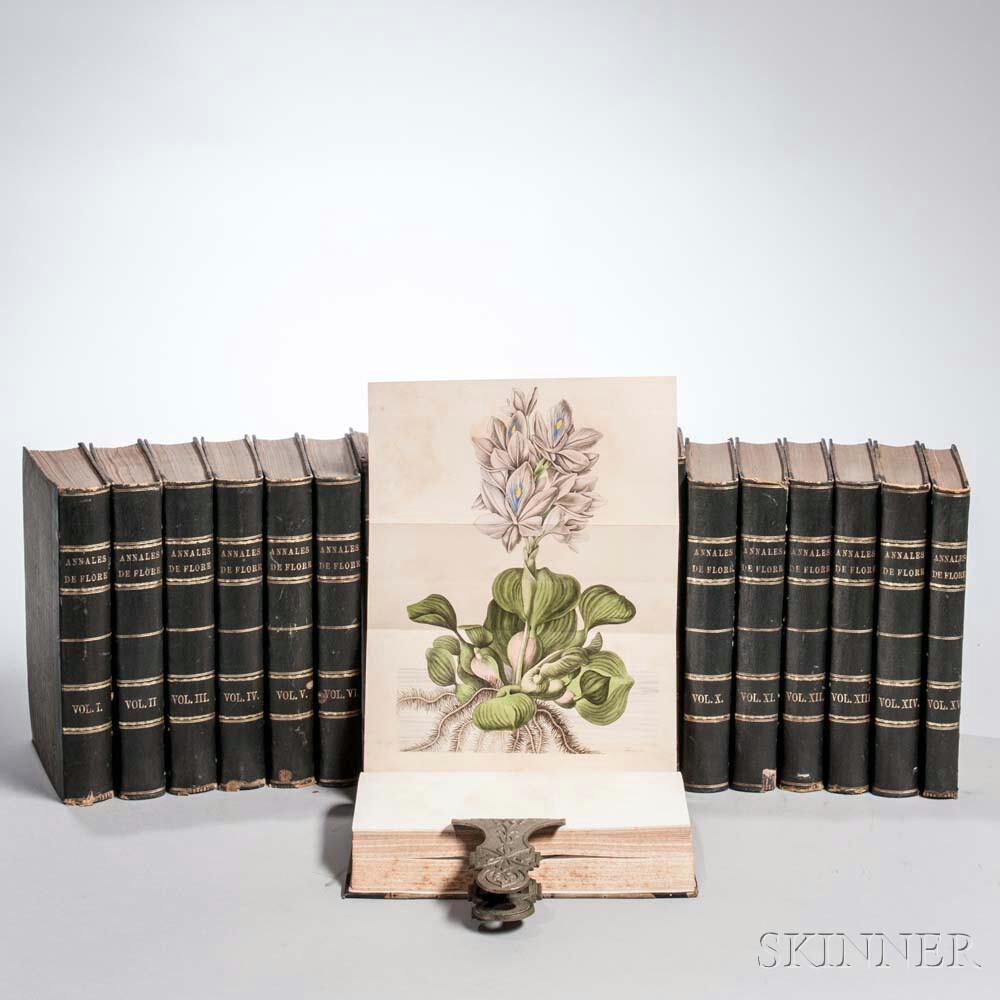 Annales de Flore et de Pomone, ou Journal des Jardins et des Champs.