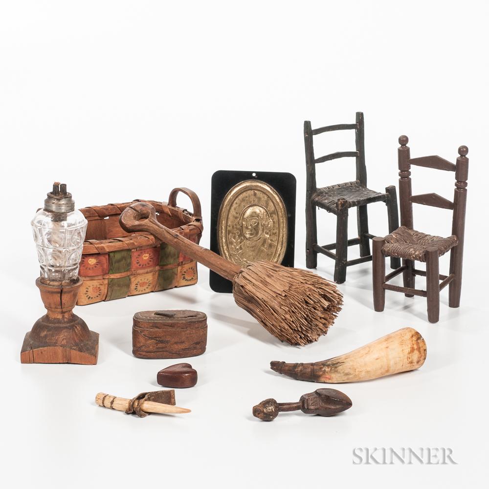 Eleven Small Utilitarian/Decorative Items