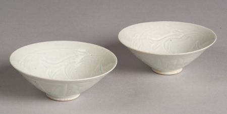 Pair of Conical Bowls