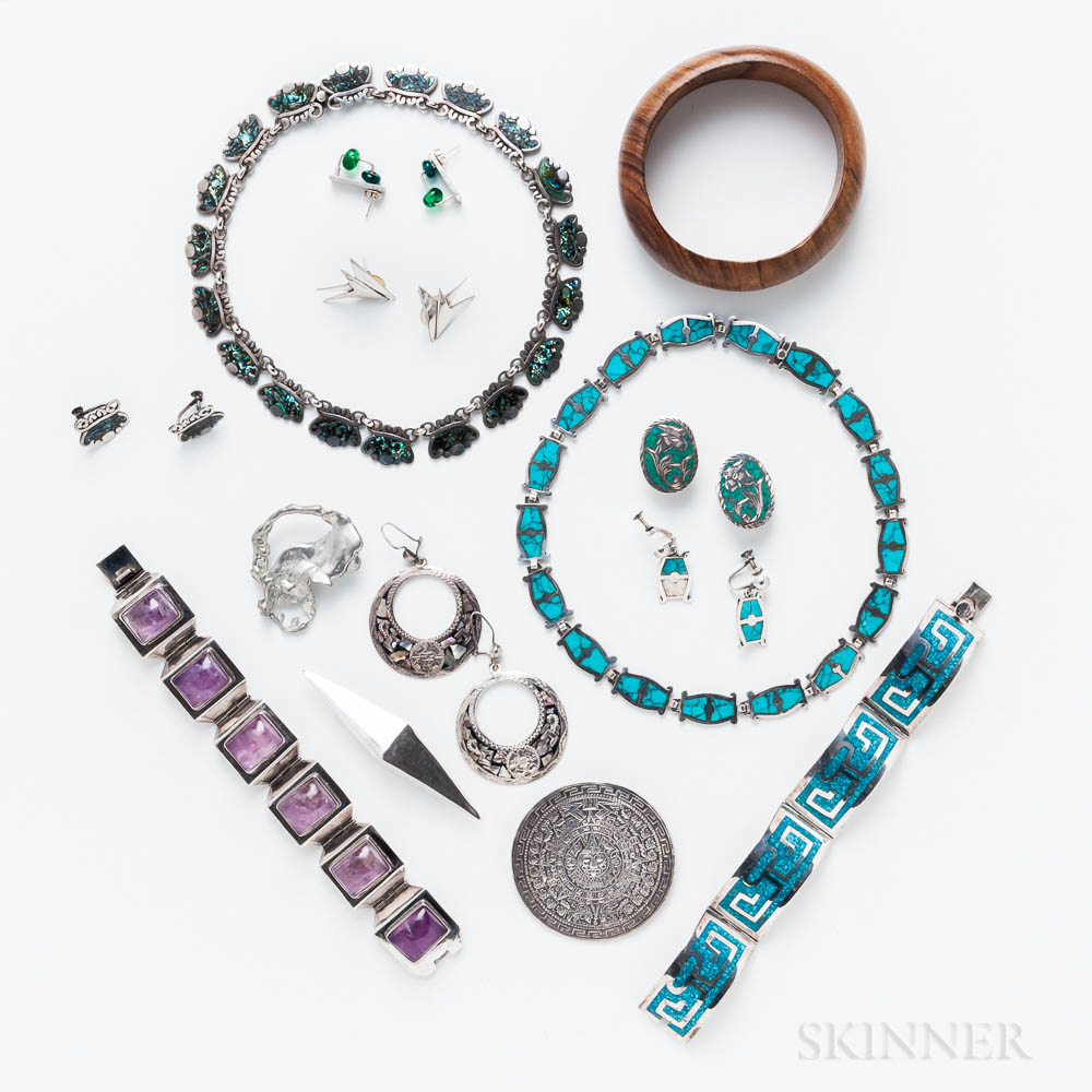 Group of Sterling Silver and Other Jewelry