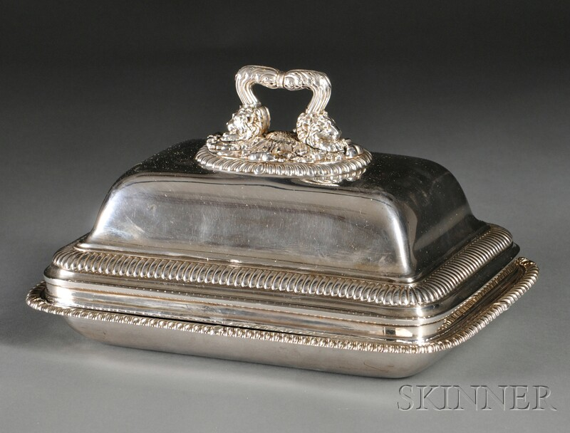 English Silver Tureen and Cover
