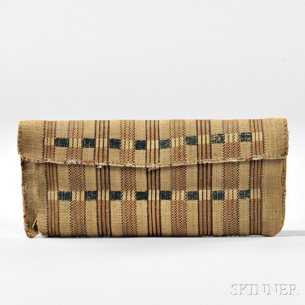 Alaskan Aleutian Island Basketry Wallet