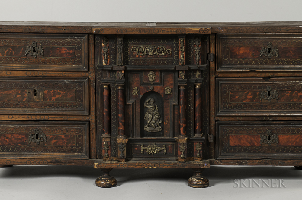 Baroque style inlaid table cabinet sale number 3020b for Baroque 2 door accent cabinet