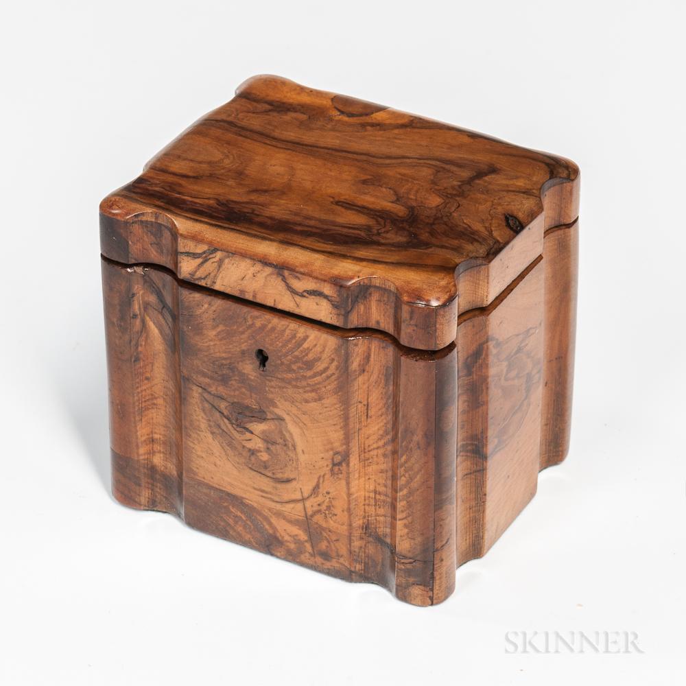 Olive Wood Tea Caddy
