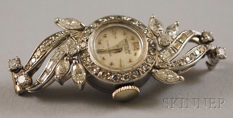Platinum and Diamond Westbury Watch