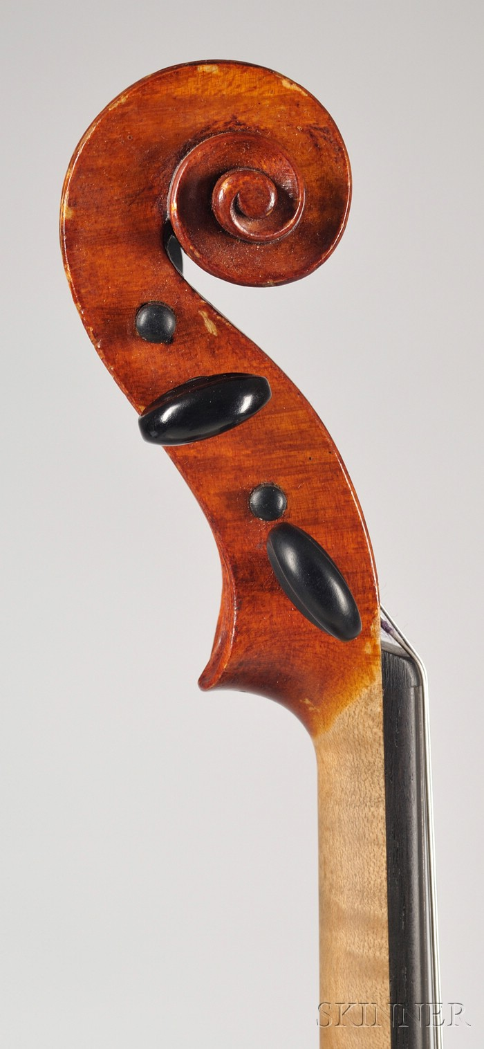 American Violin, Roscoe Hall, Portland, 1908