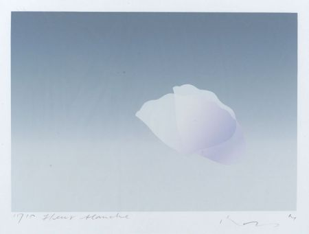 Kozo (Kozo Inoue) (Japanese, b. 1937)  Fleur Blanche