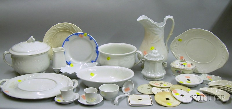 Approximately Thirty-three Pieces of Ironstone Tableware.