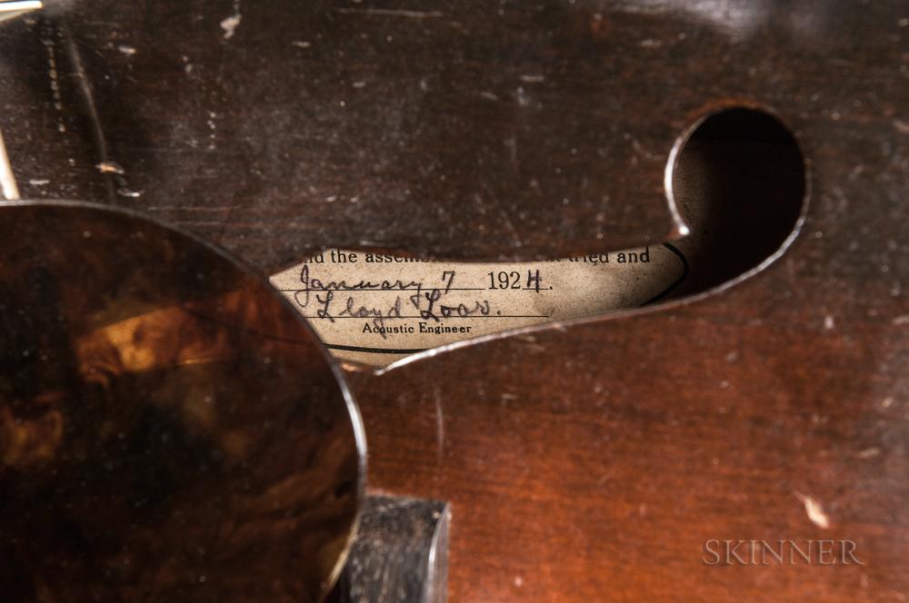 Gibson Style H-5 Mandola, 1924