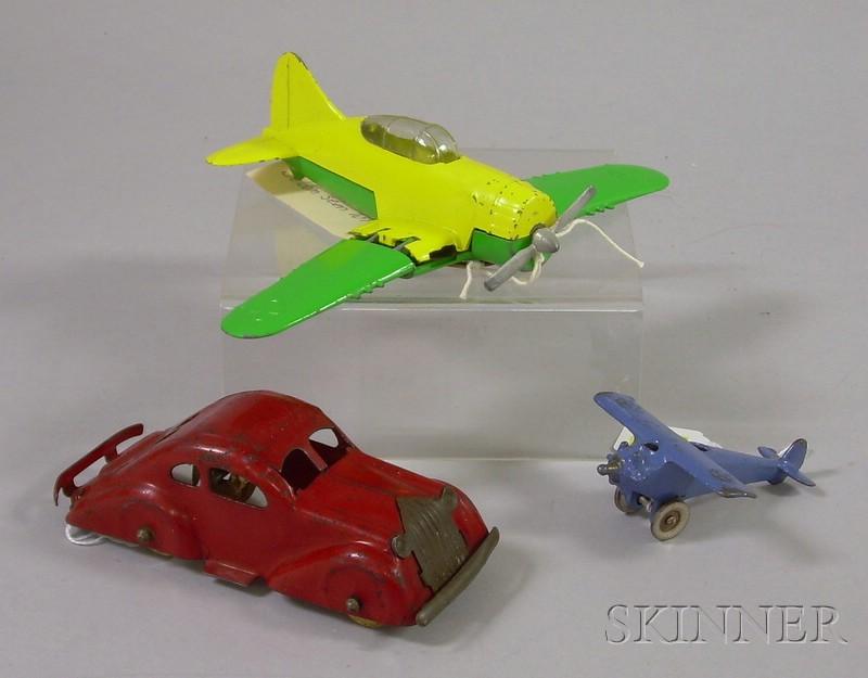 Three Metal Toys