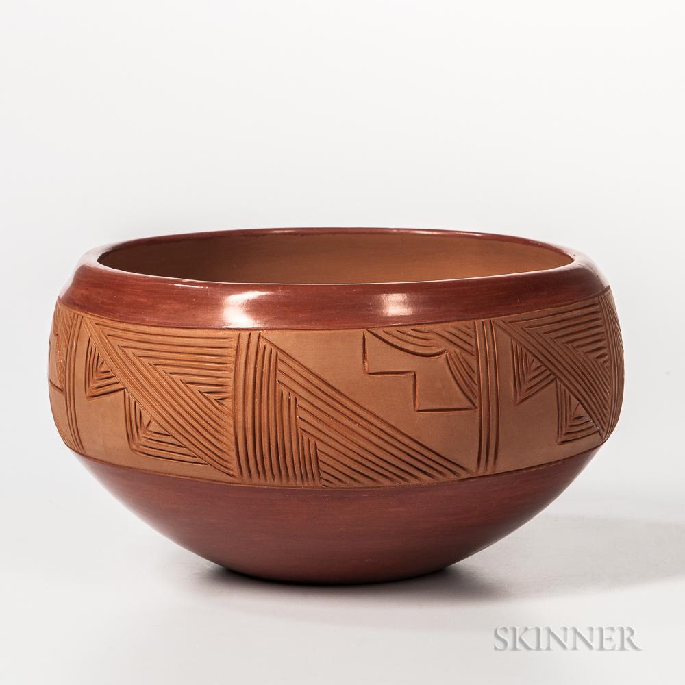 Contemporary San Juan Pottery Bowl