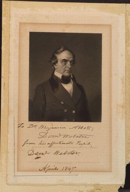 Webster, Daniel (1782-1852)