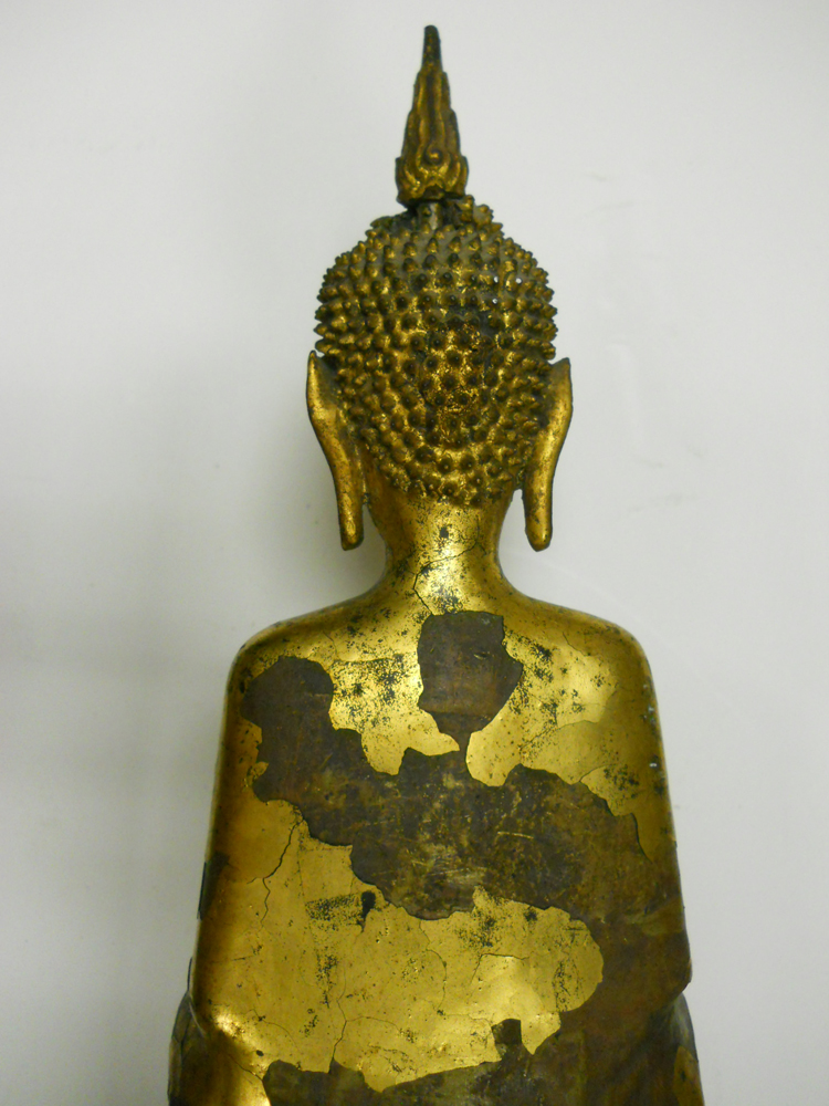 Gilt-bronze Figure of Buddha