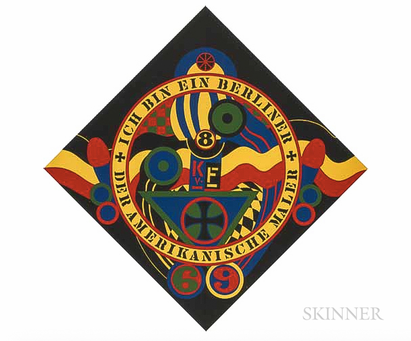 Robert Indiana    Hartley Elegies KVF IX