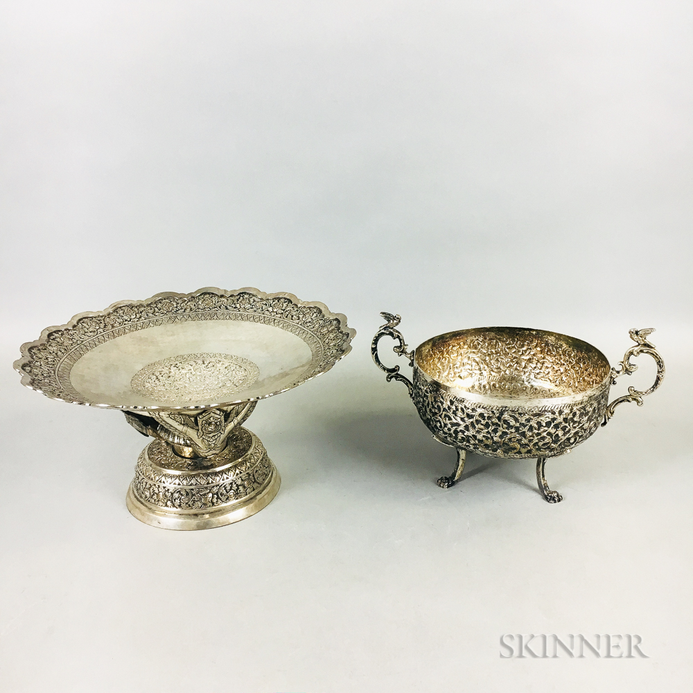 Two Silver Vessels