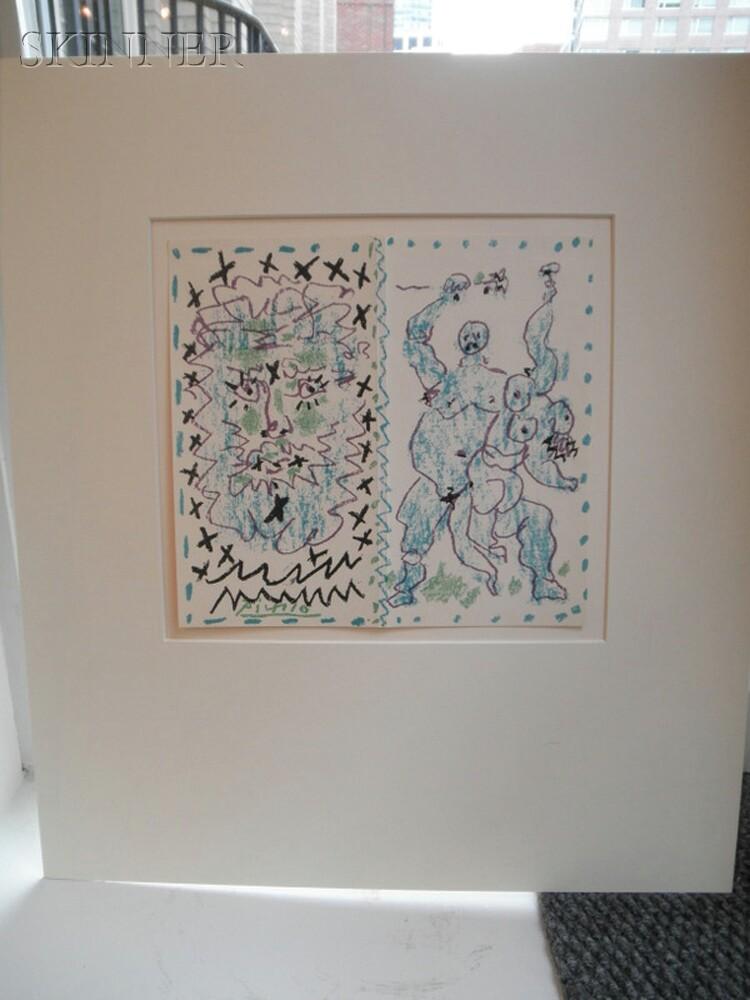 Pablo Picasso (Spanish, 1881-1973)      Dessins d'un demi-siècle