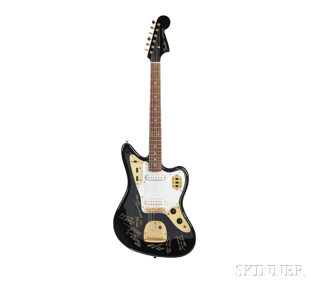 Marty Stuart     Fender Guitar Center 30th Anniversary Limited Edition Jaguar Electric Guitar, c. 1994