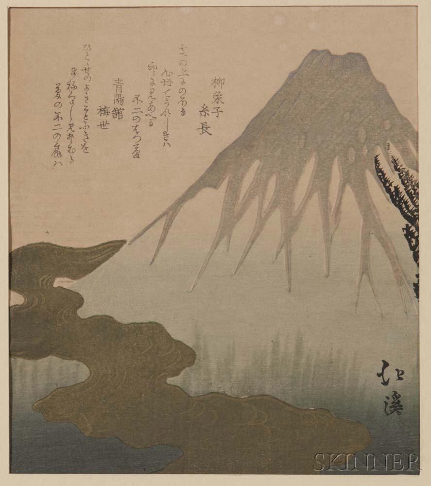 Toyota Hokkei (1780-1850), Fujiyama