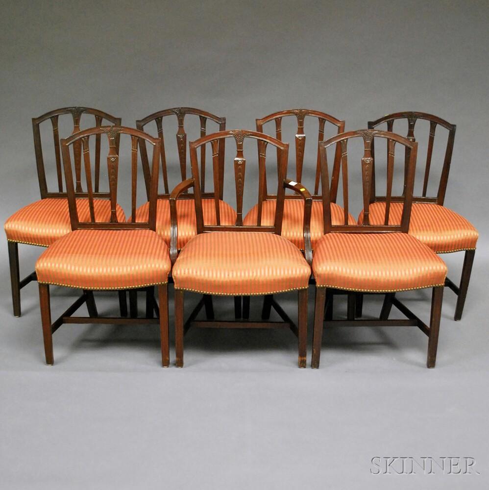 Georgian-style Mahogany Double-pedestal-base Dining Table